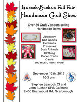 Craft Show Vendors needed
