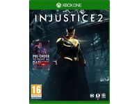 Injustice 2 xbox one game brand new/sealed + dlc