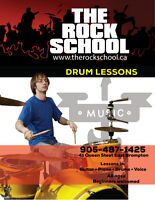 Drums Lessons at The Rock School