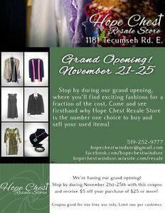 GRAND OPENING NOV 21st - NOV 25th Windsor Region Ontario image 2