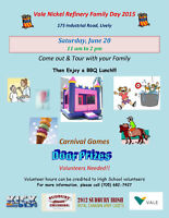 Family Fun Day volunteer opportunity for high school students