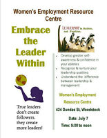 Embrace the Leader Within 'Certificate' Workshop for Women