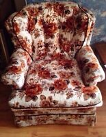 beautiful chair 'n couch