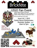 Brickfête Montreal - LEGO Exhibition