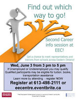 Get a first chance at Second Career June 3 at EEC!