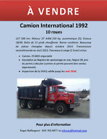 Camion International – 10 roues