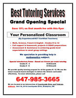 Brampton Tutor -Certified, Affordable and Excellent Service