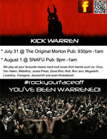 Kick Warren- Hard Rock Band performing Live!!