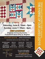 'The Fabric of Our Lives 2015' Quilt Show