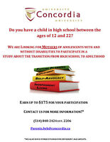 Mothers Participate in Study - Earn $175