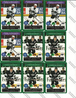 One On One Hockey cards