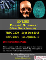 Online Forensic Sciences classes @ SMU