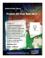 Project Be Your Best SELF at the Bedford Public Library!