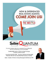 New and Experienced Agents!