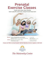 Free Prenatal Fitness Classes!