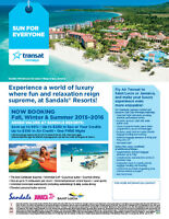 BOOKING SANDALS SPECIAL