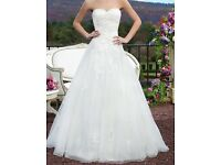 Sincerity wedding dress 2016 collection Size 6/8