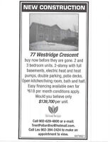 NEW TOWNHOMES FOR SALE