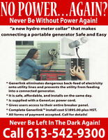 NO POWER....AGAIN...  NEVER BE WITHOUT POWER