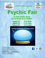 Psychic Fair St Thomas August 2015