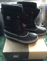Sorel Men's 1964 Pac Nylon Boots Black Size 12 for SALE!!!