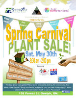 Carnival and Plant Sale