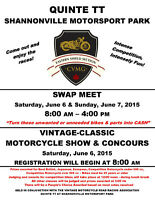 Swap Meet & Bike Show Shannonville