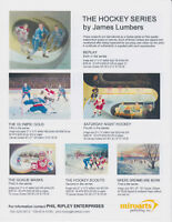 JUST RELEASED 6TH PRINT OF THE HISTORY OF HOCKEY COLLECTION; FEA