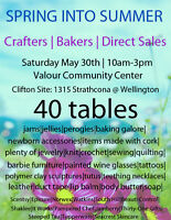 West End Craft and Bake Sale MAY 30th 40+ tables