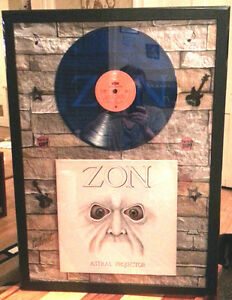 ZON - Astral Projector - Coloured Vinyl Record 1978 - FRAMED London Ontario image 1