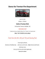 DANCE FOR TRENTON FIRE DEPARTMENT