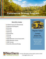 Commercial Driving Program - N. College
