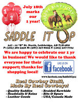 Saddle It Up Celebrates 1 Year in Business!