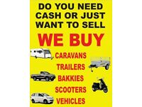 trailers, scooters, mopeds and vans wanted