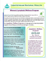 Women's Lymphatic Wellness Program at Lightstream Natural Health