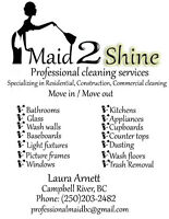 Maid 2 Shine Professional Cleaning Services