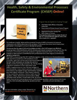 Certified Health, Safety & Enviroment Process - N. College
