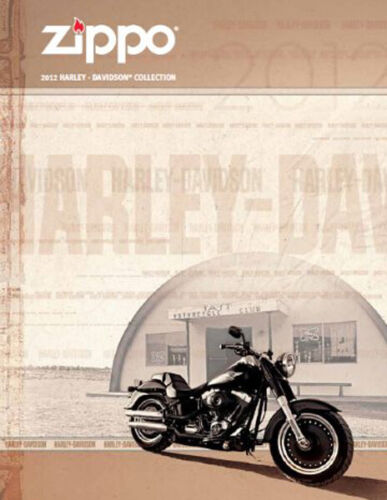 Zippo Lighter 2012 Harley Davidson Collection Product Price Catalog Book