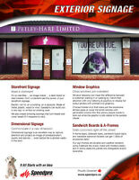 Make your business come alive & TRANSFORM your curb appeal!