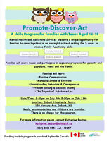 Promote, Discover, Act Program July 9-11