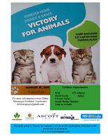 VENDORS WANTED: Victory For Animals Forever Home Fundraiser