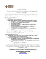 $50 for Participation in Couples Counselling Study