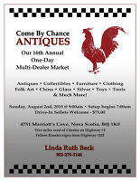 ADVANCE NOTICE Come By Chance 1 Day Outdoor Market Aug 2