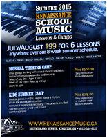 Summer Music Lessons at Renaissance Music