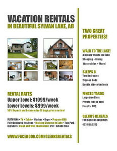 Sylvan Lake Vacation Rentals
