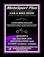 CARS AND BIKES WANTED - Classic Car and Bike Show