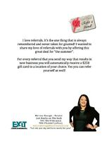 Sharing my love of referrals with you!!!