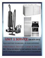 APPLIANCE REPAIR - CERTIFIED, FAST, RELIABLE AND FRIENDLY