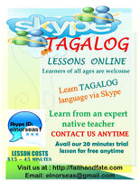 Filipino (Tagalog) Lessons! Learn a new language today!!