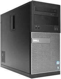 Dell 3010 Windows 10 PC - Intel i3, 8GB RAM, new 120GB SSD, 500GB HDD, GeForce 210 Graphics Card